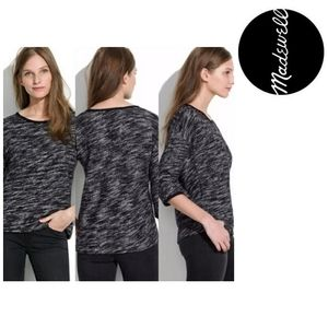 MADEWELL SHADETREE MARLED PULLOVER SWEATER M